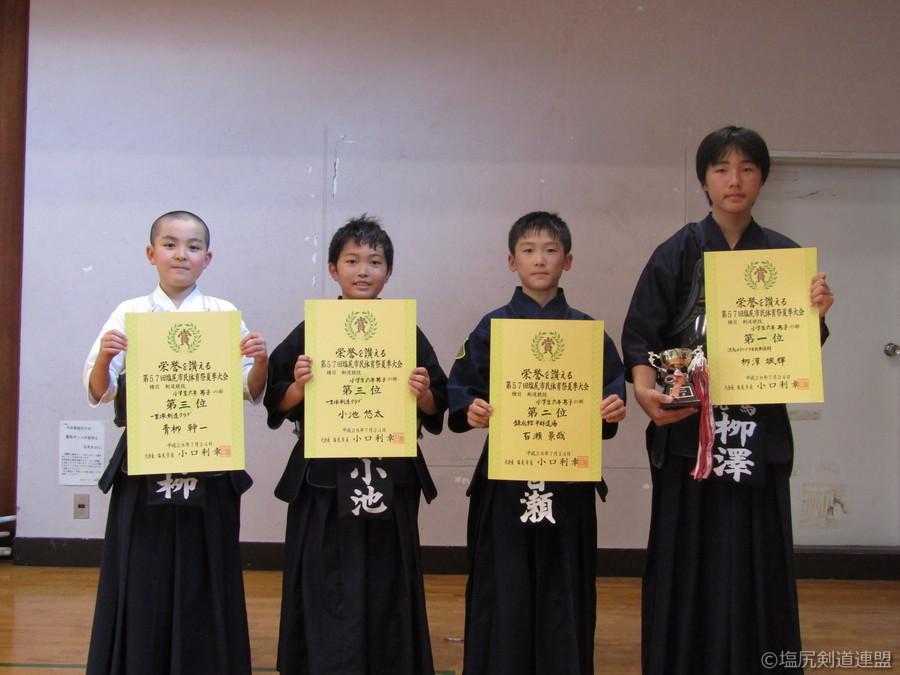入賞_小学生6年生男子