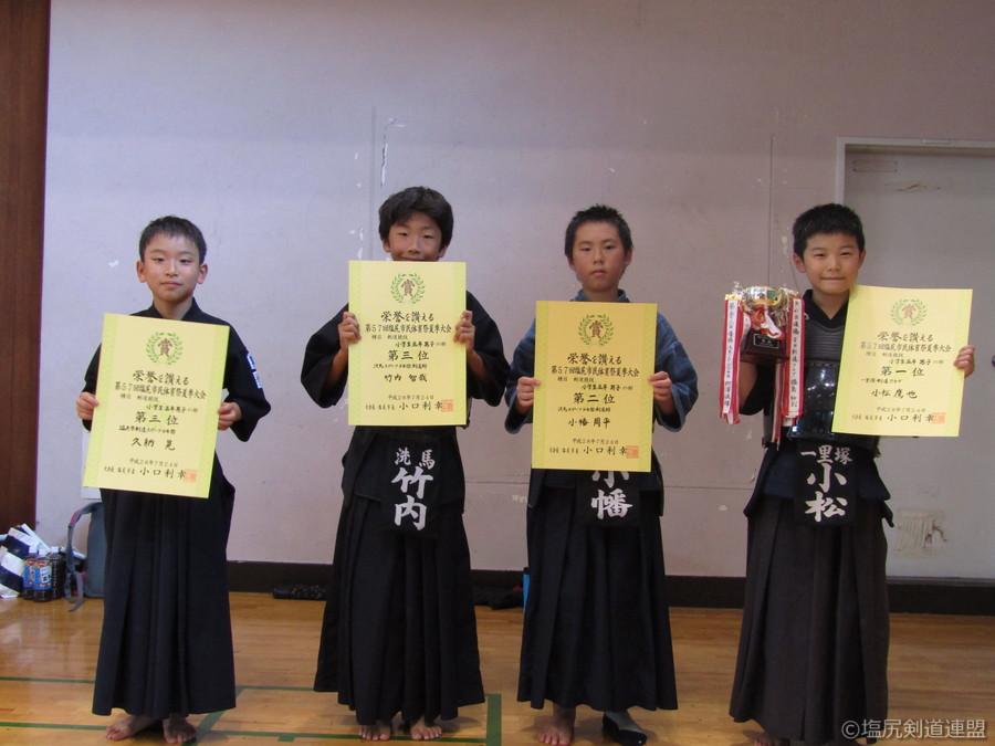 入賞_小学生5年生男子