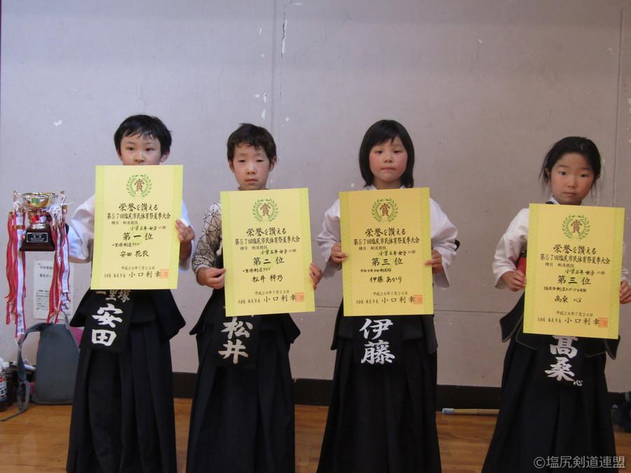 入賞_小学生3年生女子